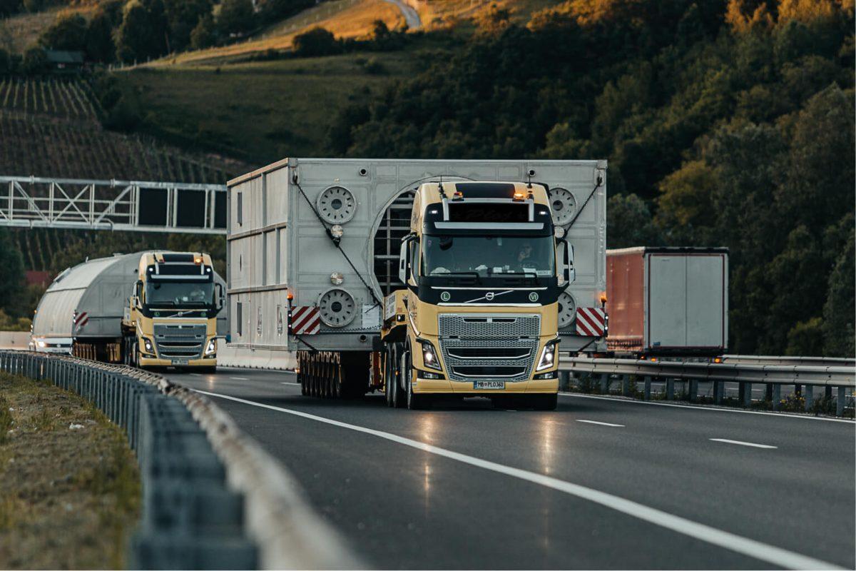 izredni prevoz avtocesta sirina tovor comark