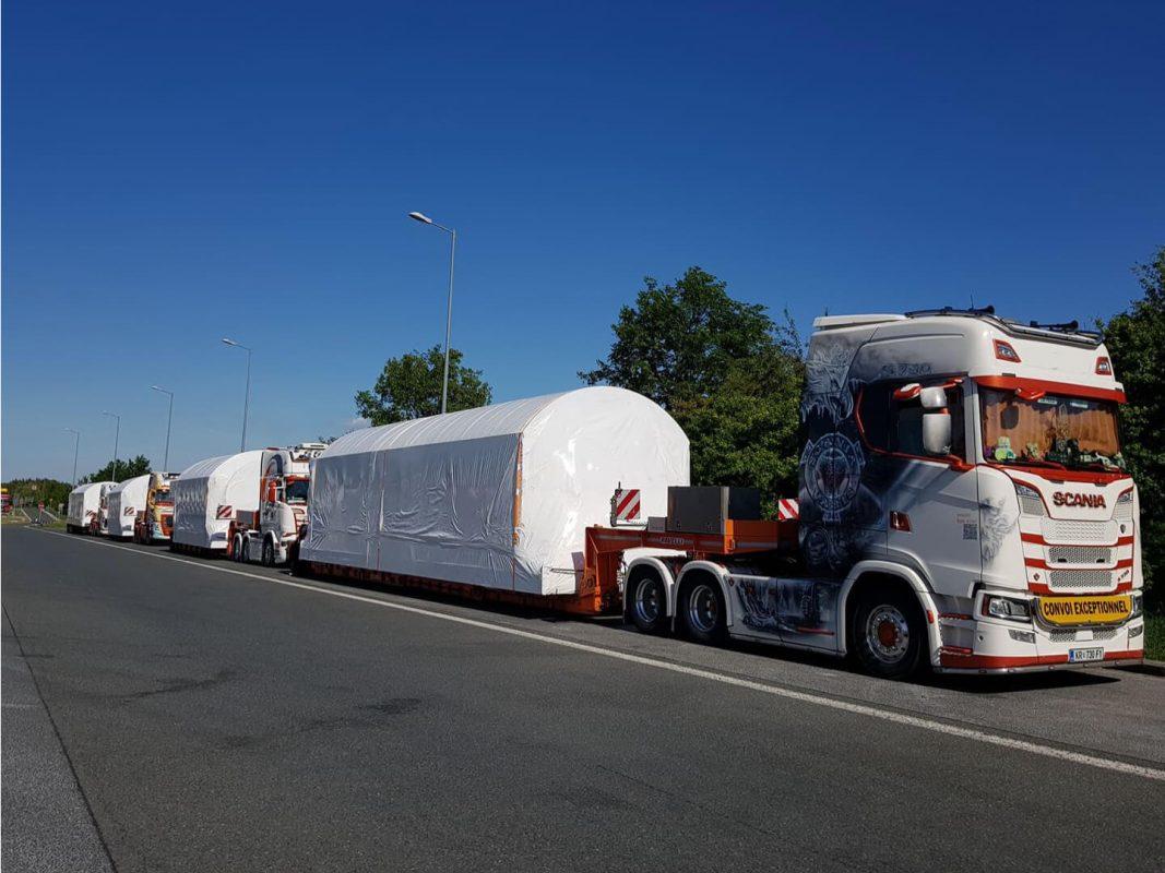 izredni prevoz transport konvoj shrink comark