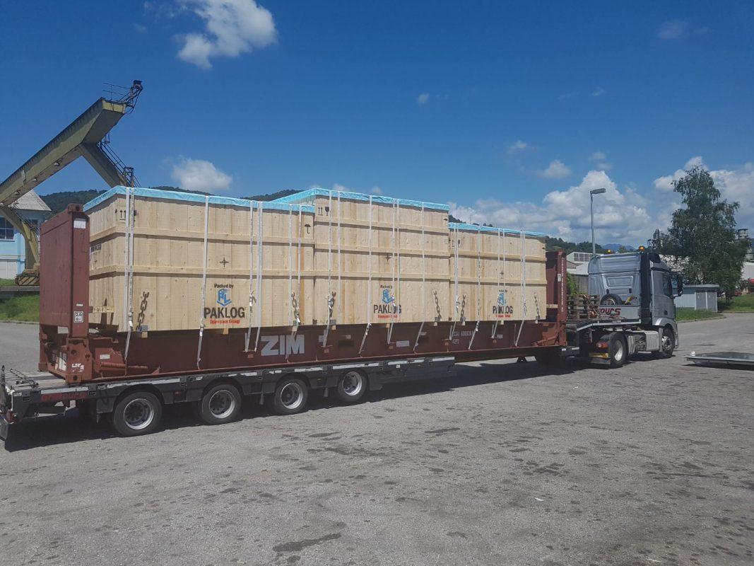 pakiranje tovora fr kontejner lashing comark