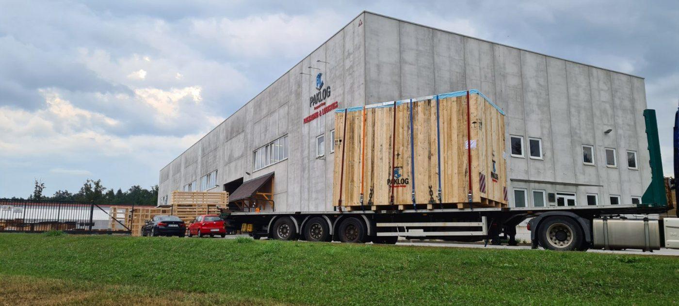 pakiranje tovora izredni zaboj comark