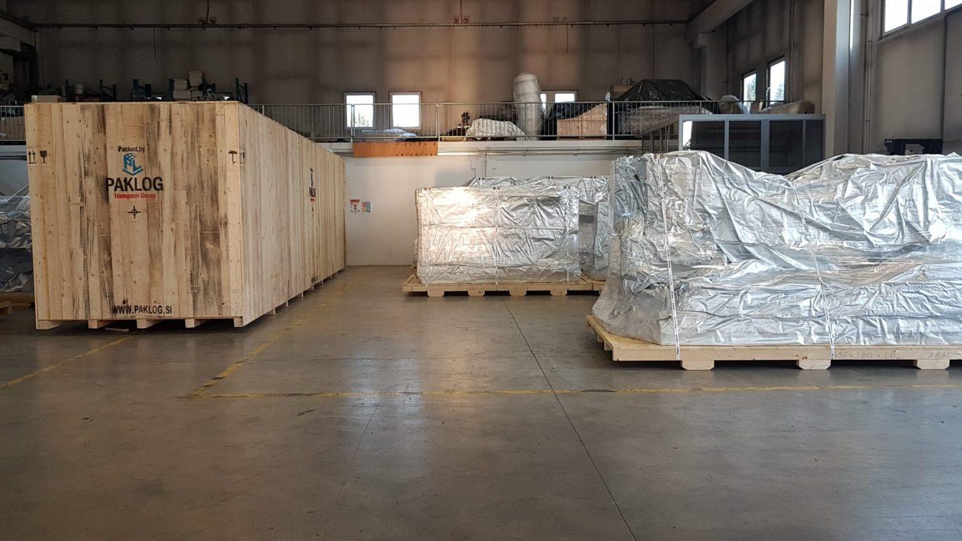 pakiranje tovora prekomorsko comark