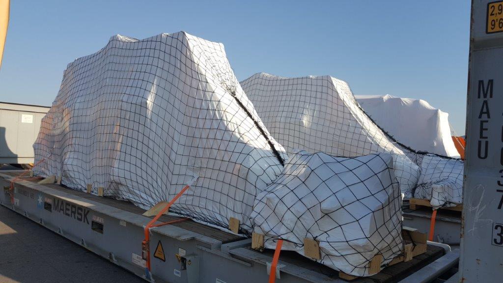 pakiranje tovora termoskrcljiva folija shrink wrap comark