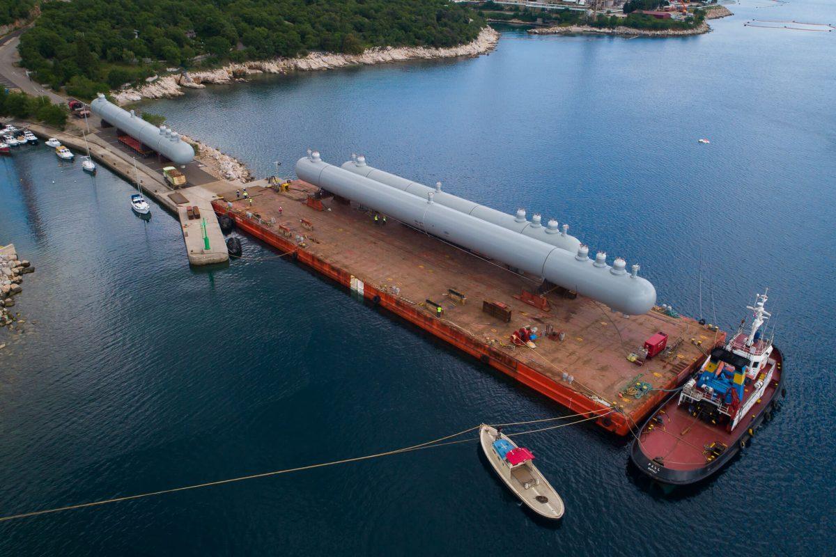 projektni tovor comark slovenija barge