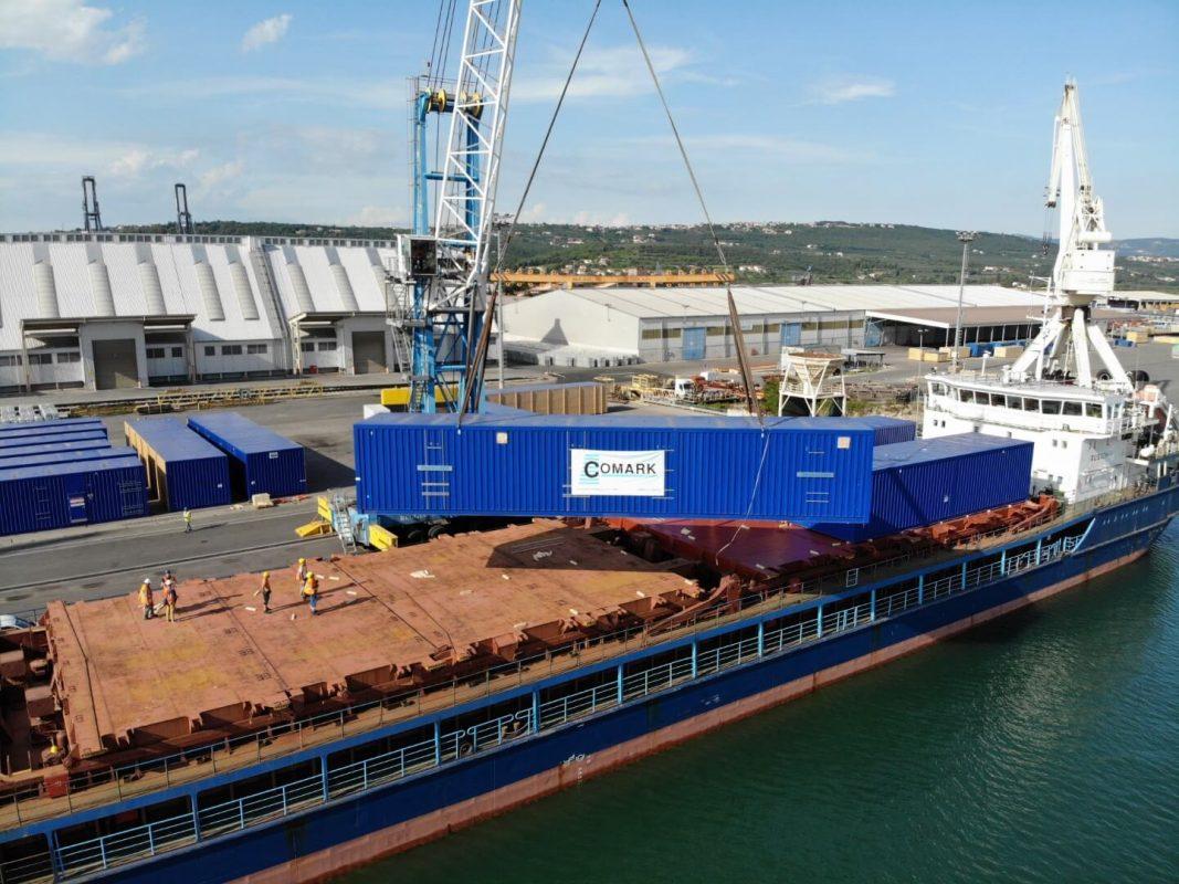 projektni tovor comark slovenija kontejner charter ladja 1