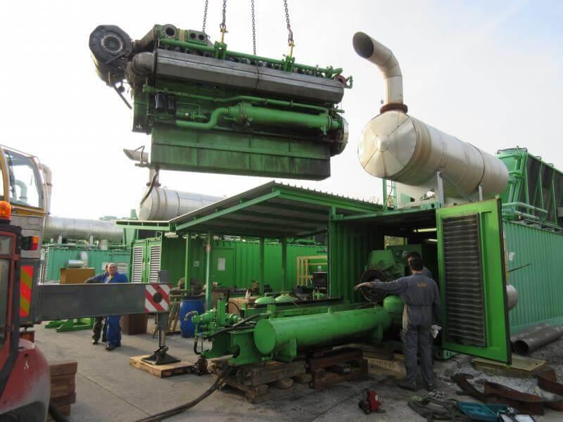 selitev opreme RAL comark slovenija demontaza dvig breme