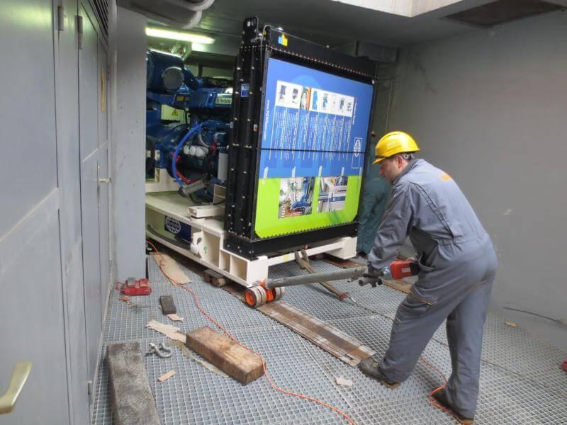 selitev opreme RAL comark slovenija vnos hodnik