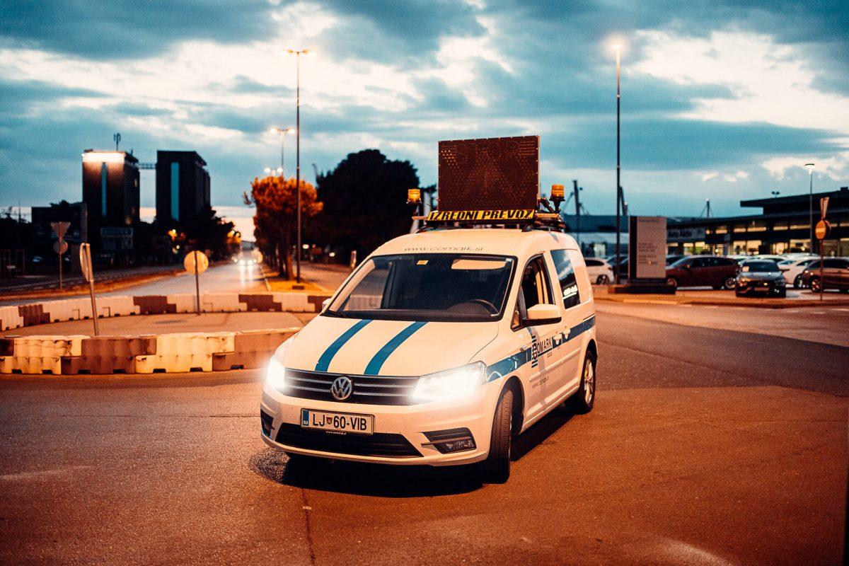spremstvo izredni prevoz krozisce comrak slovenija
