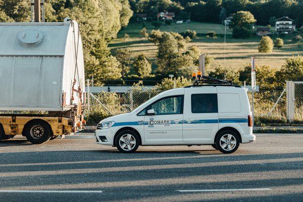 spremstvo izredni prevoz vozilo tovor slovenija