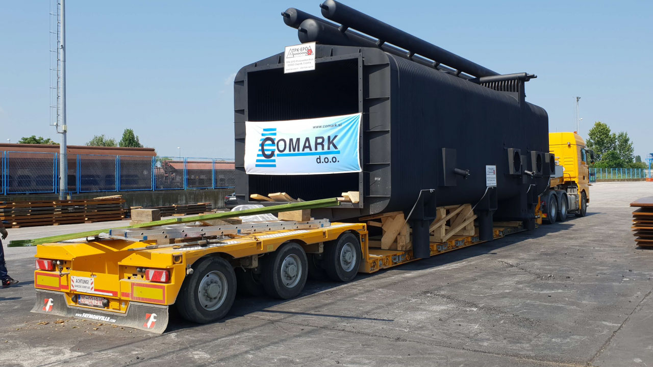 izredni prevoz korito comark