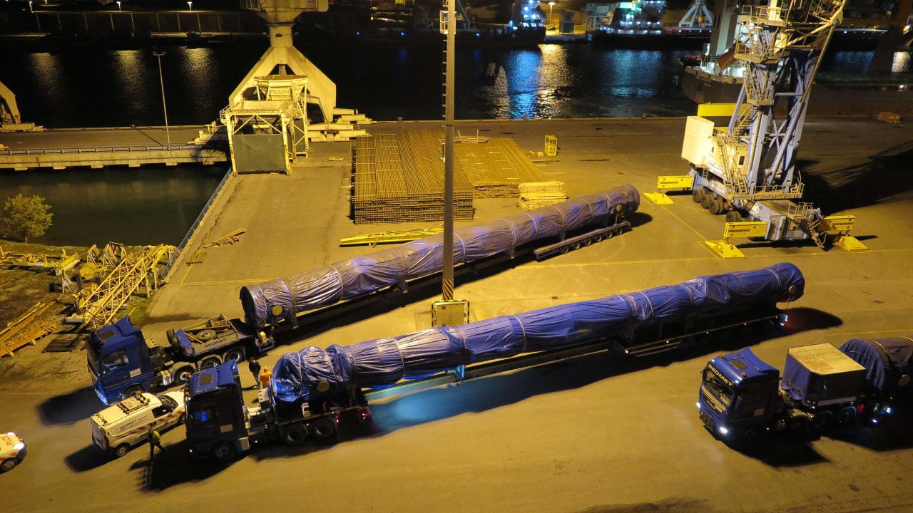 izredni prevoz luka koper dolzina comark