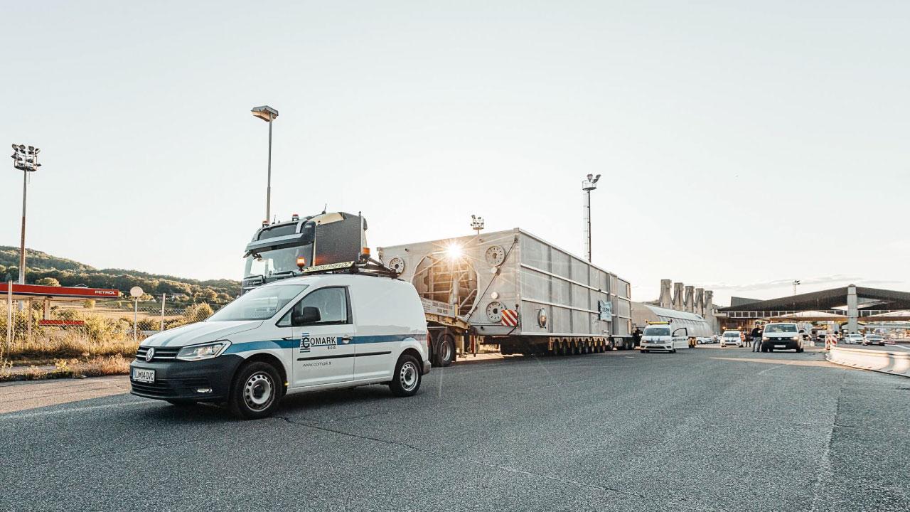 izredni prevoz tovor 6 metrov sirina comark