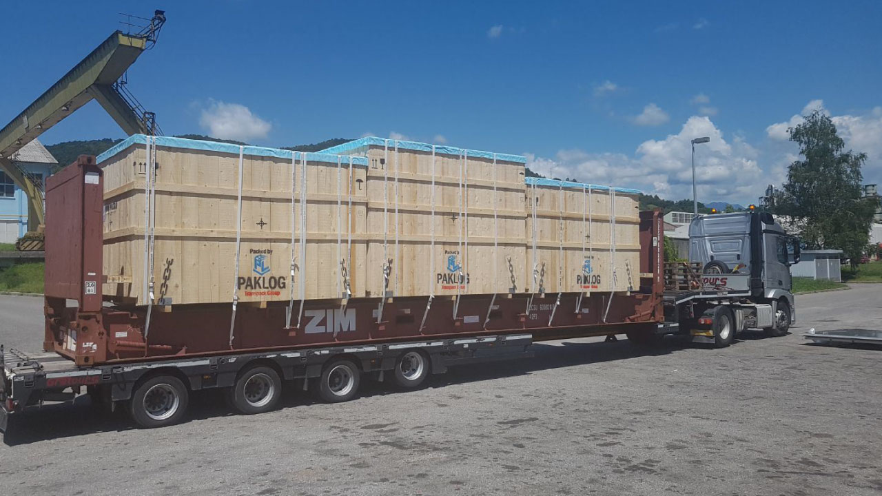 pakiranje tovora fr kontejner lashing comark 1