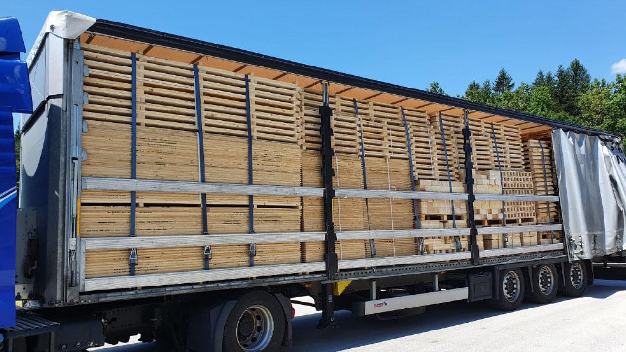 pakiranje tovora lesena embalaza dostava kupcu comark 1