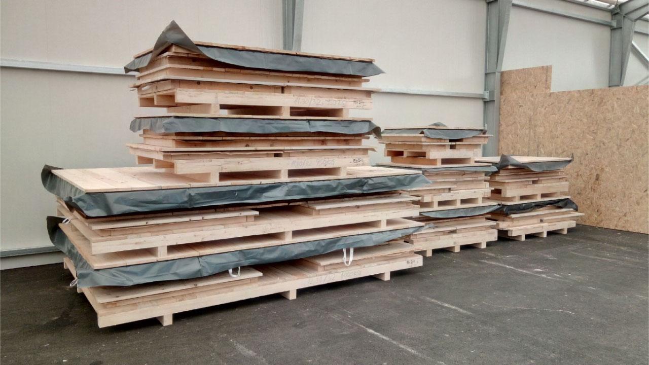 pakiranje tovora lesena embalaza wooden packing slovenia comark