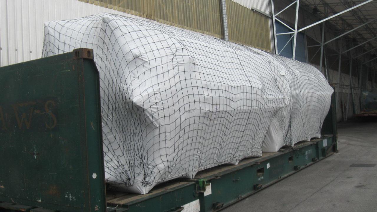 pakiranje tovora termoskrcljiva folija luka koper terenska enota 1