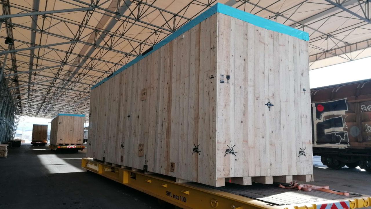 prekomorsko pakiranje tovora seaworthy pakcing port koper slovenia comark