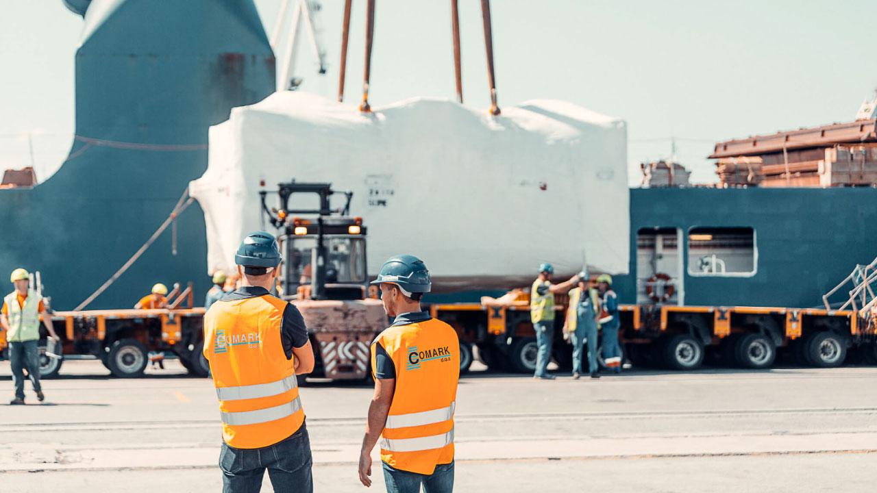 projektni tovor comark slovenija naklad luka koper presa