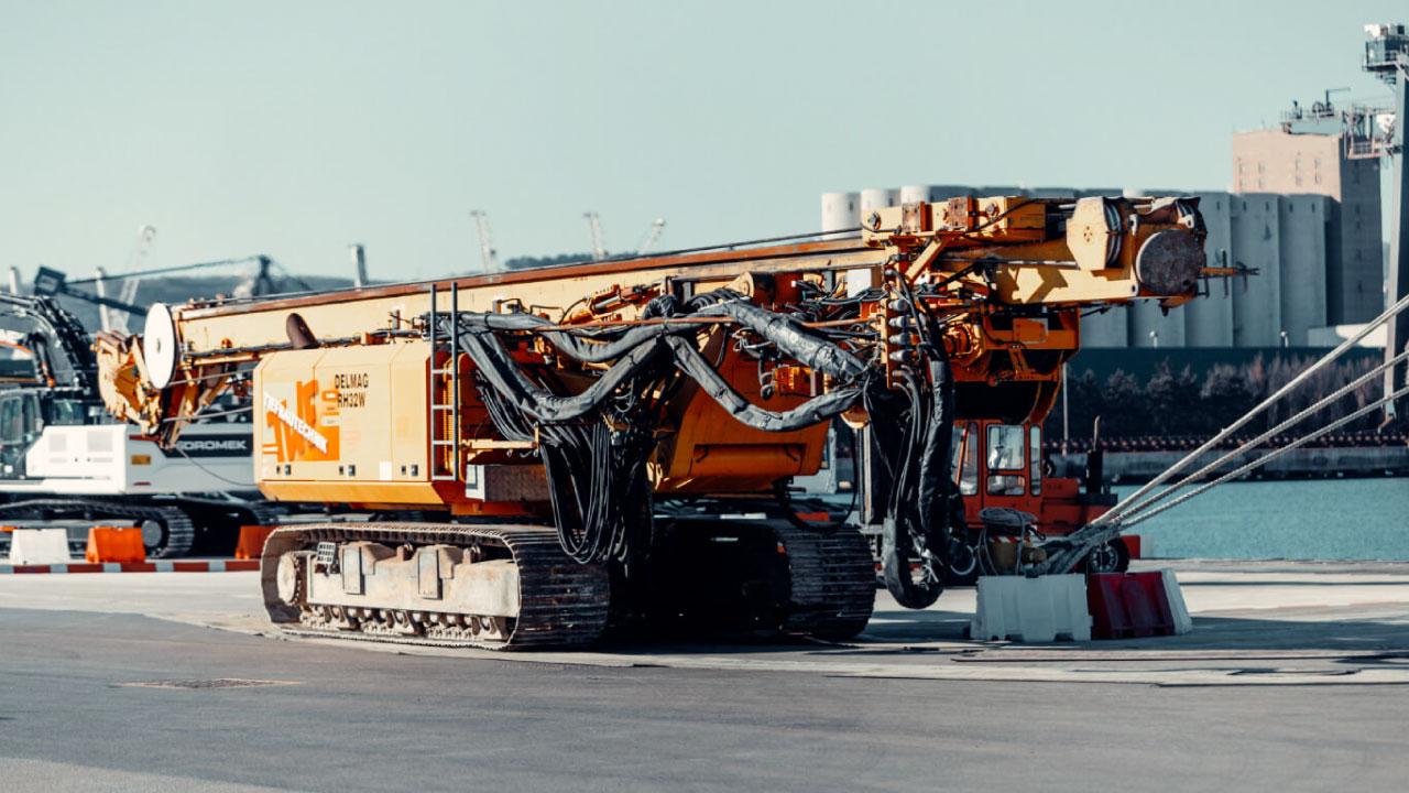 projektni tovor project cargo comark slovenija stroj drill luka koper port koper roro