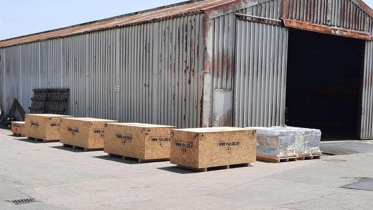 prekomorsko pakiranje tovora seaworthy packing comark slovenia terenska ekipa